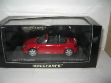 MINICHAMPS 1.43  AUDI TT ROADSTER  RED LTD ED AWESOME LOOKING MODEL  OLD STOCK