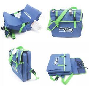 NFL Seattle Seahawks Stadium Seat Cushion Padded Bleacher Cup Holder Football