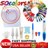 50 Multi Colors Cross Stitch Cotton Sewing Skeins Embroidery Thread Floss Kit US