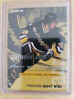 1994-95 Fleer (BASE) Jaromir Jagr Pittsburgh Penguins Card #163