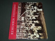 1965 REMEMBER YESTERDAY BY PIERRE BERTON HARDCOVER BOOK - KD 3862