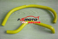 Silicone Radiator Hose Kit for Suzuki Quadracer 250 LT250R 1985-1992 86 YELLOW