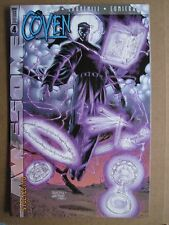 1998 AWESOME COMICS THE COVEN #4 PURPLE VARIANT COVER FLIP BOOK OF REGEX COVER