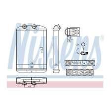 Fits Renault Master MK3 2.3 dCi 170 Nissens Heat Exchanger Heater Matrix