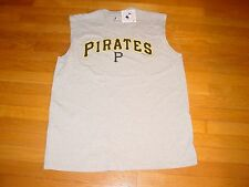 Official   PITTSBURGH PIRATES  MAJESTIC sleeveless Muscle  T-Shirt NEW    MEDIUM