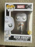 Marvel Moon Knight GLOW GITD Funko Pop Vinyl NEW in Mint Box + Protector
