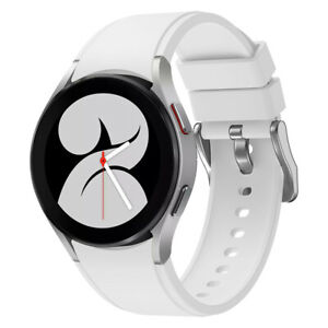 For Samsung Galaxy Watch 4 40/44mm 42mm 46mm Classic Silicone Leather Band Strap