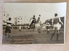 CALCIO ANNI '30 MATCH SAMPIERDARENESE GENOVA - HUNGARIA BUDAPEST- FOTO GUARNERI