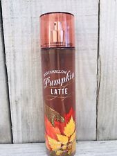 Bath & Body Works Marshmallow Pumpkin Latte Fragrance Mist Spray Rare Original