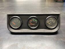Vintage Vdo Three Guage Panel Volkswagen Oil Volt Oil Temp Porsche 911 Gti