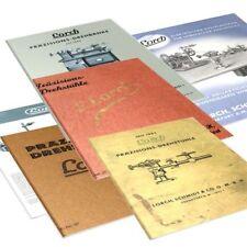 Lorch Drehbank Kataloge (Konvolut)