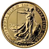 Daily Deal! 2018 Great Britain 1 oz Gold Britannia £100 Coin GEM BU SKU49807