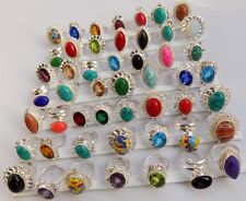 ROYAL LOOK WHOLESALE LOT 50PCS 925 STERLING SILVER OVERLAY WONDERFUL RING