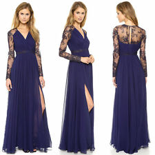 Lace Long Sleeve Formal Ballgowns for Women