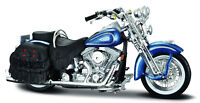 Harley Davidson Model, 1999 FLSTS Heritage Softail (35), Maisto Motor Bike 1:18