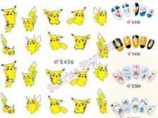 3D Nail Art Sticker Angry Bird Pokemon Pikachu Totoro Japanese Cartoon Decals