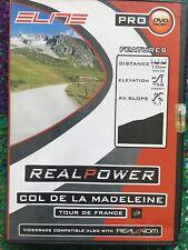 Elite COL DE LA MADELEINE TDF Video RealPower RealAxiom RealTour Trainer CD/DVD