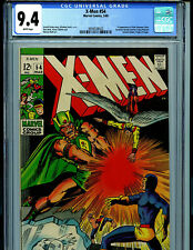 X-Men #54 CGC 9.4 NM 1969 Marvel Comics 1st Alex Summers (Havok) Amricons B12