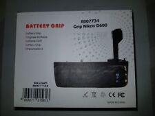 NEW Nikon D600 Poignee Batterie Battery Grip Griff Empunadura MB-D14H EN-EL15 AA
