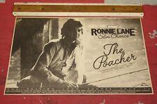 "RONNIE LANE (FACES/SMALL FACES)  ""The Poacher"" 1974 UK TOUR Orig ADVERT/POSTER"