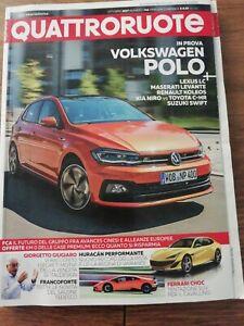 rivista QUATTRORUOTE Nr. 746 - Ottobre 2017 - Editoriale Domus VERSIONE POCKET