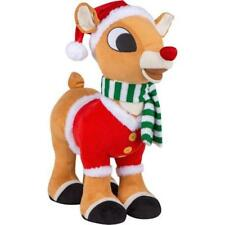 Rudolph The Red Nose Reindeer Rudolph Porch Christmas Plush Greeter New NWT