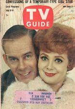 1961 TV Guide July 8 - Henry Morgan; Gladys; Peter Gunn; Cara Williams; Donahue