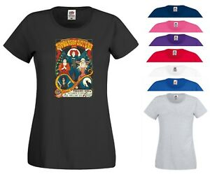 Hocus Pocus Movie T Shirt Sanderson Sisters Horror Scary Joke Gift Women Tee Top