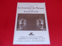 COLL.J. LE BOURHIS AFFICHES Spectacles / ROMAIN BOUTEILLE 1979 LA ROCHELLE