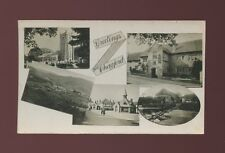 Devon CHAGFORD Greetings from  M/view used c1920s? RP PPC