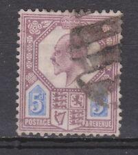 Great Britain nr 110 used EDWARD VII 1902 VEILING oude postzegels ENGELAND