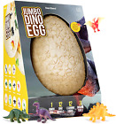 Jumbo Dino Egg Unearth 12 Unique Large Surprise Dinosaurs in One Giant Filled