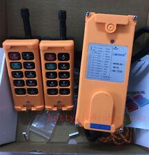 DC24V 2 Transmitters 10 Channels Hoist Crane Radio Remote Control System