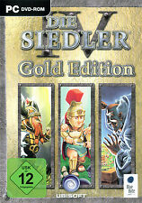 Los colonos 4 IV-Gold Edition para PC | mercancía nueva | versión alemana!