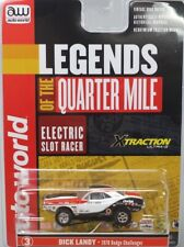 HO Slot Car - AW X-Traction Legends of the 1/4 Mile - Dick Landy  '70 Challenger