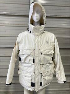 Spyder Ski Jacket - Mens Medium - XTL 10,000 - Snowboard Winter - White - Snow