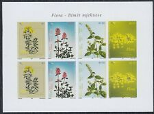 Kosovo 2008 Flowers - Flora - Medicinal plants, Sheet, imperforated, MNH