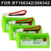 3x Cordless Phone Battery 2.4V 800mAh AAA NI-MH for VTech BT166342  BT183342 NEW