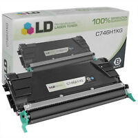 LD Remanufactured Lexmark C746H1KG HY Black Toner for C746/C748 Printer Series