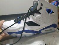 GYM//RED//WHITE-BLACK 555470 600 Boys/' Jordan FLTCLB 91 PRM BP PS Shoe!