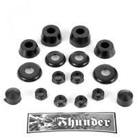 Thunder BushingsTrucks Skateboard Truck Rebuild Kit 100 Duro-Black