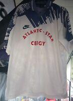 Maillot jersey maglia camiseta trikot  PSG neymar mbappe Cergy vintage worn xl p
