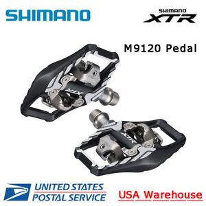 NEW Shimano XTR SPD PD-M9120 Trail Platform Pedal with SM-SH51