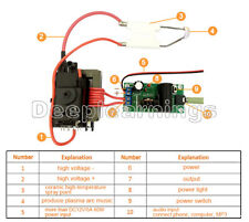 Zvs Tesla Coil Booster 20kv High Voltage Generator Plasma Music Arc Speaker New