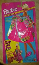 Barbie Stick and Peel Clothing