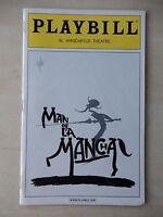 June 2003 - Al Hirschfeld Theatre Playbill - Man Of La Mancha - Mitchell