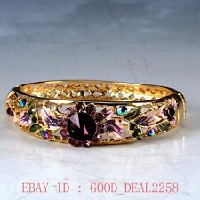 Chinese Cloisonne Handwork Carved Hollow out  Bracelet JTL004
