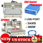 400W 3 Axis USB CNC 3040 Router Engraver Drilling Milling Machine DIY 3D Cutter