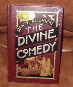 THE DIVINE COMEDY by DANTE Illustrated by GUSTAVE DORE Leather bound NEW SEALED