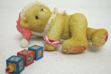 Cherished Teddies 176133 Jolene Dropping Holiday Greeting Mint